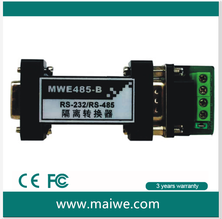 MWE485-B RS232 To RS485 Industrial Serial Converter manufacture 07