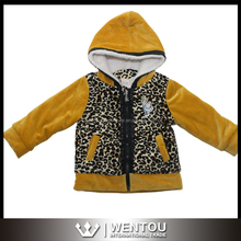 Wholesale Children Vintage Hooded Winter Jacket