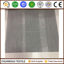 100% polyester wide and narrow striped voile fabric for curtain or decoration