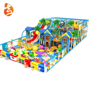 Hot sale children animals naughty castle indoor playground game for sale