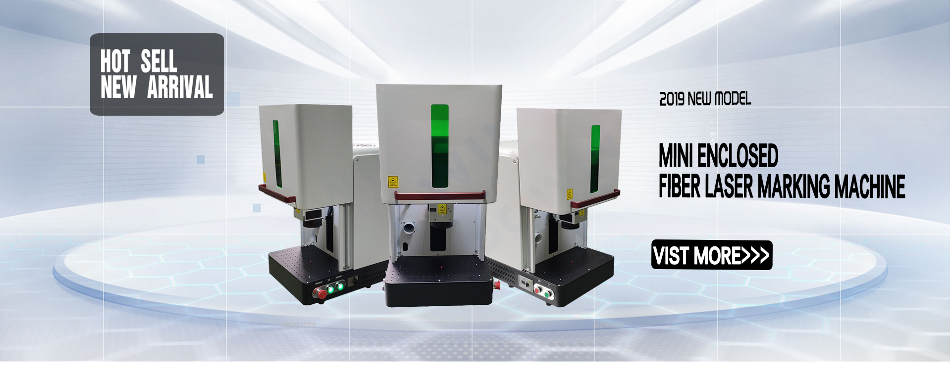 enclosed laser marking engraving machine