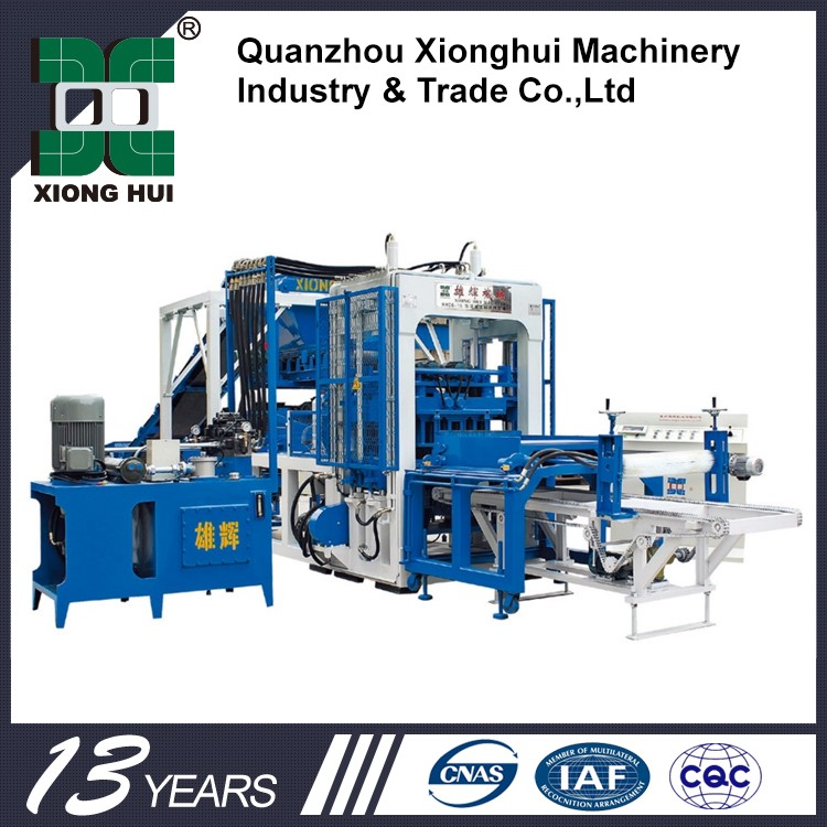 Best Quality Construction Equipment Concrete Block Making Machine In Tanzania