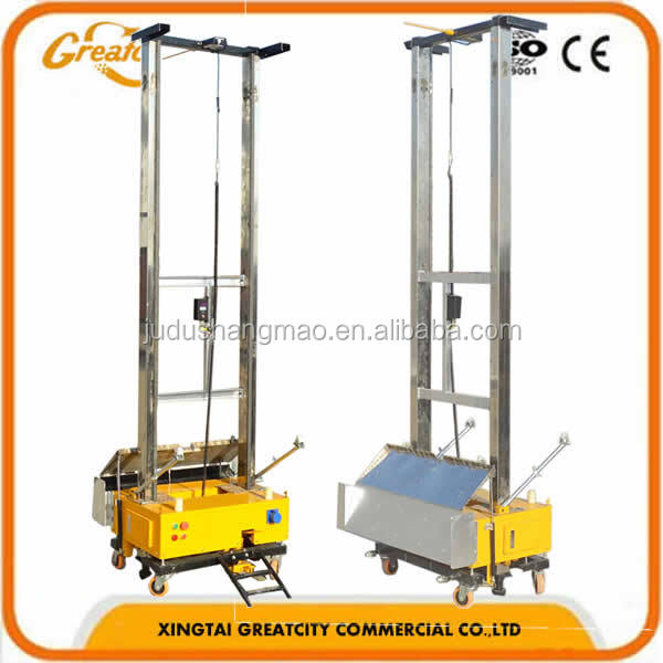 Automatic wall plastering / wall rendering machine