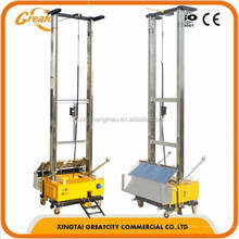 automatic wall plastering/wall rendering machine