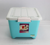 pp plastic large size stronge storage case with wheels 28L