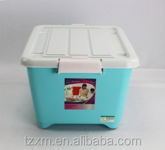 pp plastic large size stronge stronge case with wheels 28L