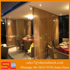 Industrial chain curtains / metallic shower curtain / metal mesh curtain