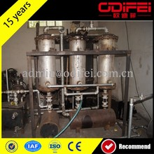 high quality oil yield 10t used motor oil distillation