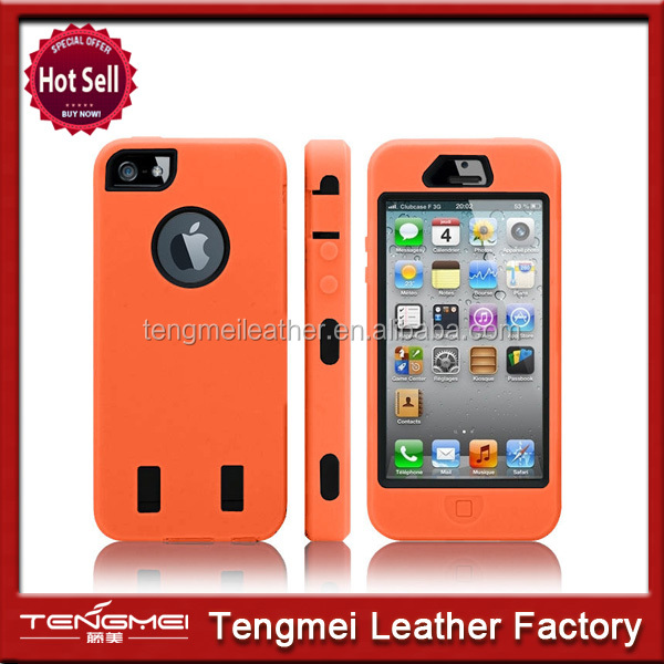 New Heavy Duty Armour Shock Proof Builders Workman Case Cover for iPhone 5 5S