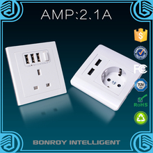 2015 Smart intelligent durable retractable wholesale wifi wall outlet made in china