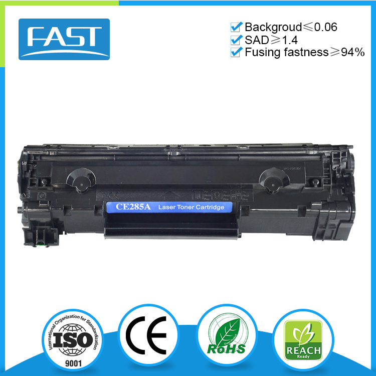 Wholesale black toner cartridge compatible ce285a for HP LaserJet P1102