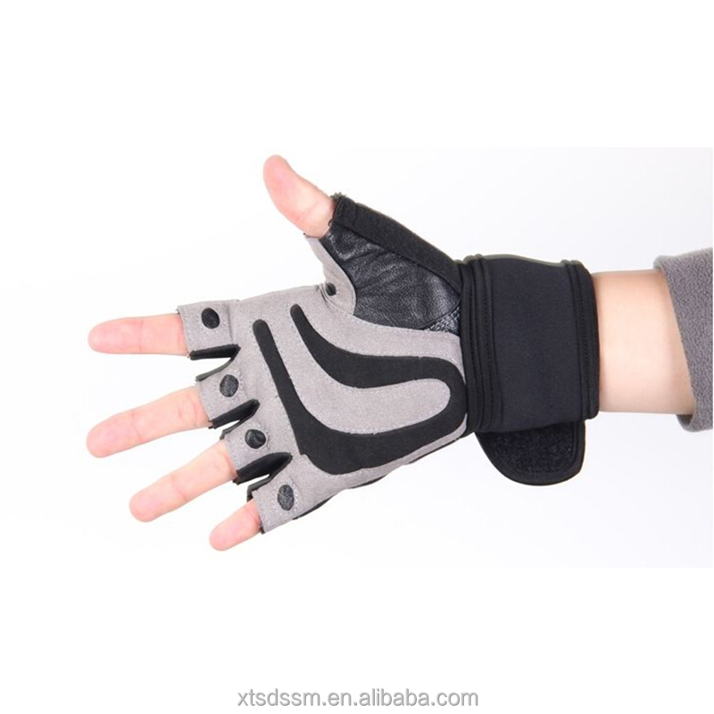 fitness neoprene gym support wrist wrap gloves