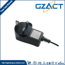 black wall-mounted 5v 1a adapter uk charger