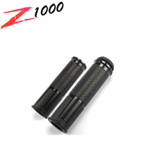 Motoo - RIZOMA 22mm Universal Motorcycle 22mm Handlebar Grips leather and aluminum Material FOR KAWASAKI Z1000