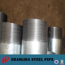DIN2458 shelf hot dip galvanized water line pipe