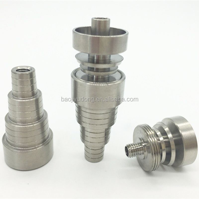 Vaporizer Domeless gr2 Titanium Nail for Smoking