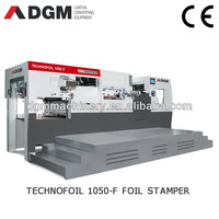HOT FOIL STAMPERS TECHNOFOIL1050 F automatic foil stamping machine