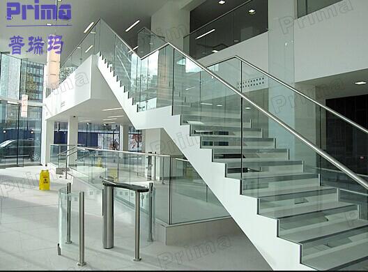 Nuevo dise o de acero inoxidable barandilla de escalera de - Escaleras al aire ...