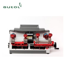 Full Set Key Cutting Machine P2 Horizontal double head machine for Car Key Maker