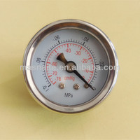 small dial dry vacuum pressure gage