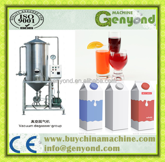 Automatic Juice/Milk Deaerator Equipment