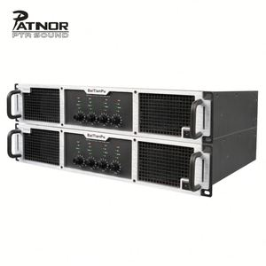 PATNOR 10000 Watt 4 Channel Class H high Power Amplifier For Bar Nightclub