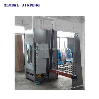 JFP-2500 Hot Sale Automatic Standing Glass Sandblasting Machine with Ce Qualification