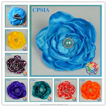 Many color burned Satin decoration flower decoration flowers for clothes