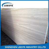 OEM high quality 0.22% water absorption Baseboard white marble