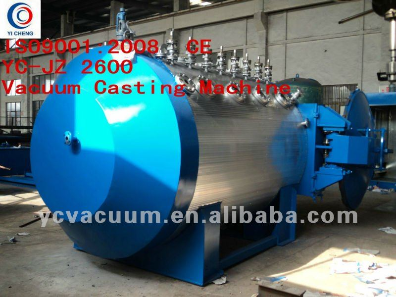Dehydration Degassing Casting and Pouring Tank