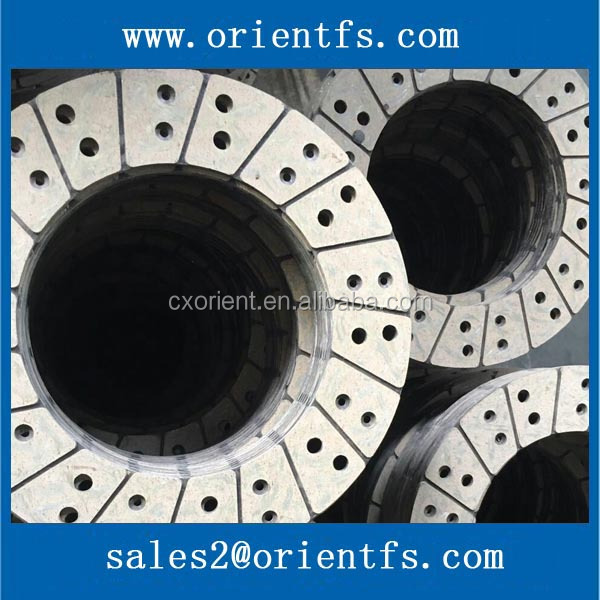 Factory direct sale good performance clutch facing friction plate