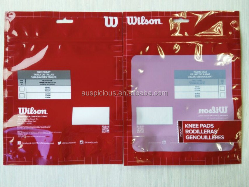 promotional plastic block header bag
