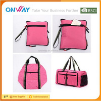 Hot selling eco-friendly feature folding large universal travel bag