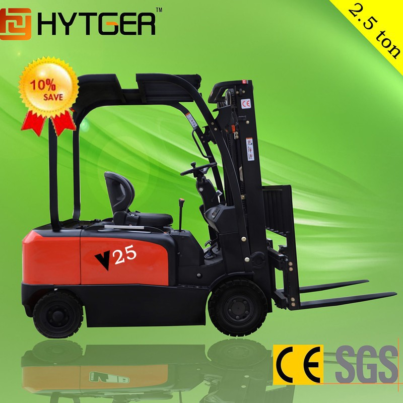 High grade electric forklift trucks/2.5 ton Electric Forklift Truck for sale with low price