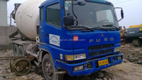 used Japanese concrete mixer truck Fuso in shanghai