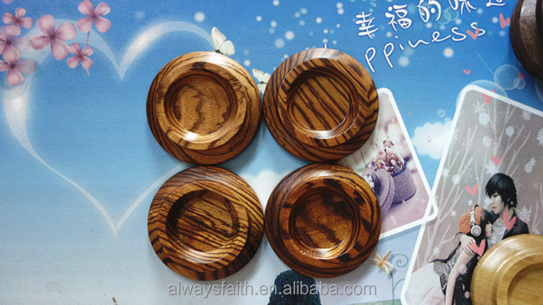 Solid Wood piano caster cup for grand piano