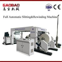 Stabilization Slitting and Rewinding Machine With CE Certificate