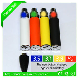 Famoustech variable voltage ego t battery lady like e cigarette