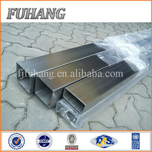 Fuhang decorative 201 304 hairline stainless steel rectangular pipe