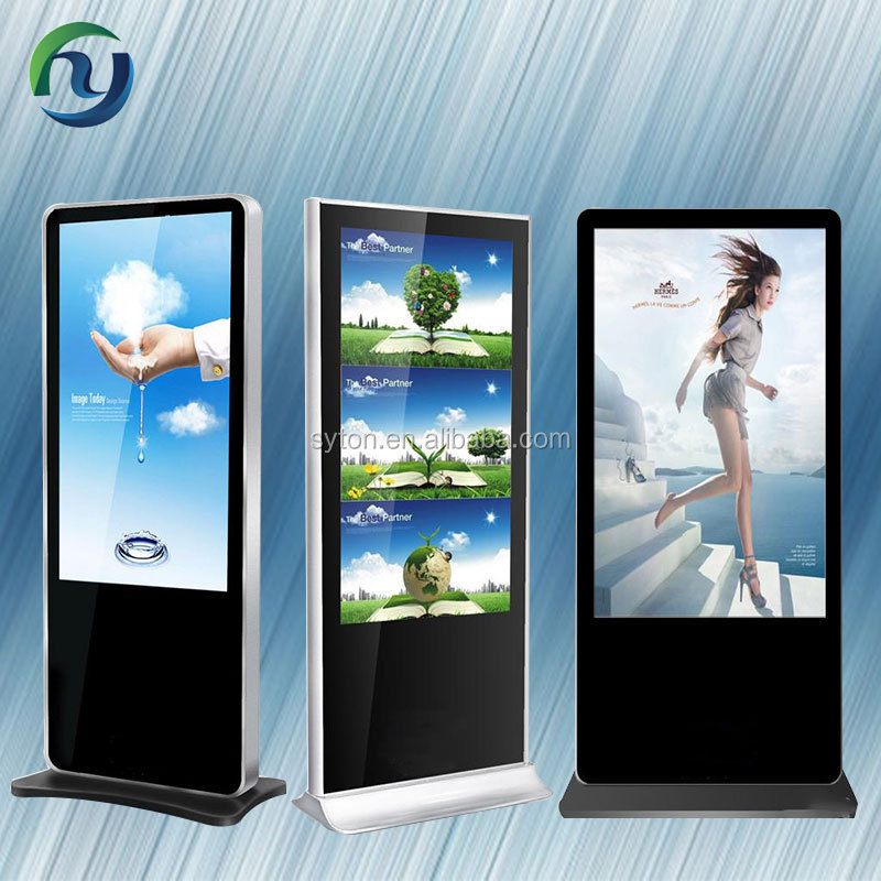 capacitive touch screen lcd panel/digital signage totem
