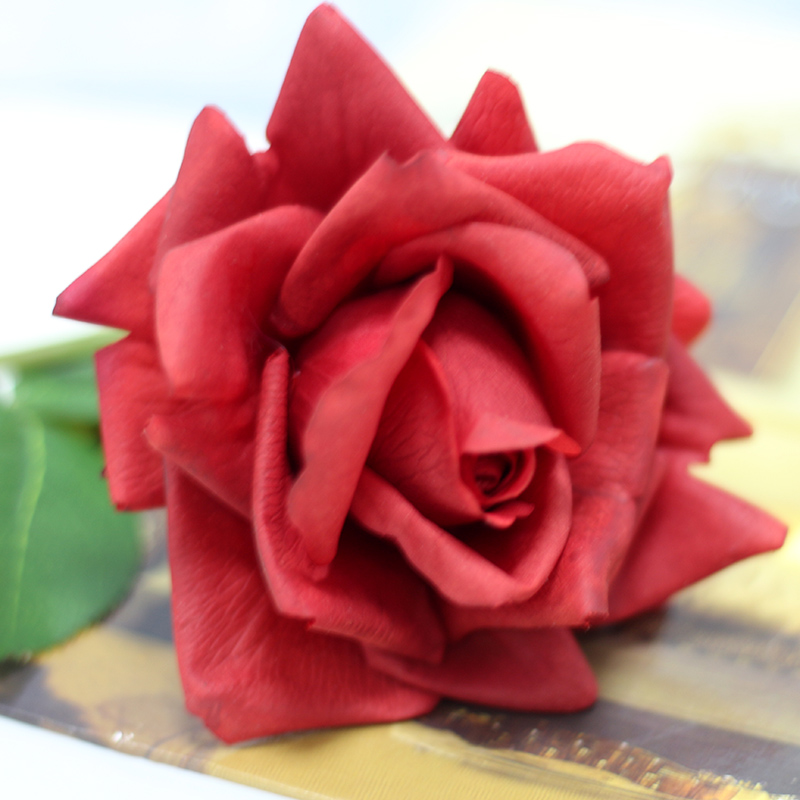 Wholesale Factory Direct Wedding Favors Door Gift Real Touch Silk Artificial Flowers Rose
