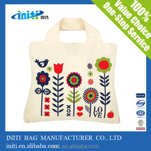 2015 Popular Wholesale 100% Organic tote cotton bag For Shopping