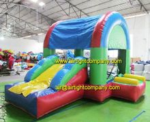 playground equipment commercial grade cheap inflatable combo bouncer slide