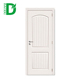 classic design white wooden hdf molded door primed grained door