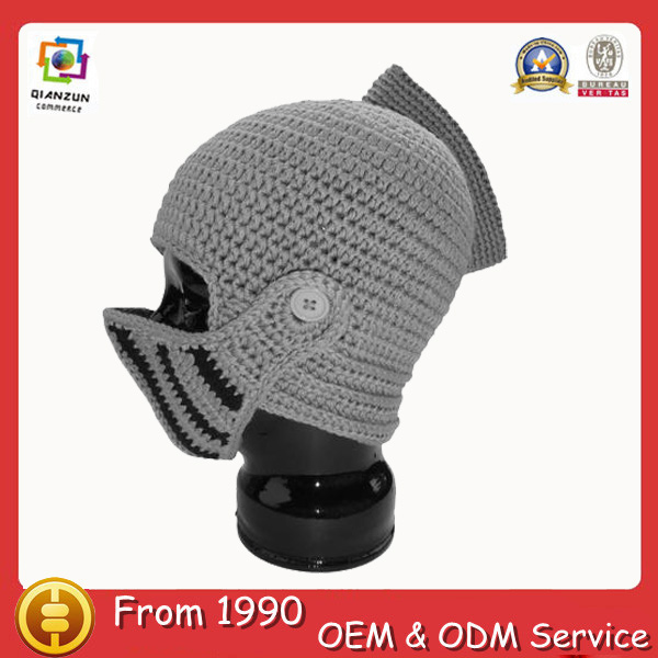 toy medieval roman beanie acrylic knight knitted helmet beanie