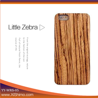 New wood case with receiver clip back cover mobile phone case back cover for ipone 6s/6s plus