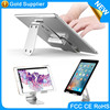 High quality portable aluminum phone holder stand for iPad and iPoad Samsung Edge 7