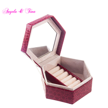 Rainproof Anti-damp Jewel Custom Empty Makeup Box