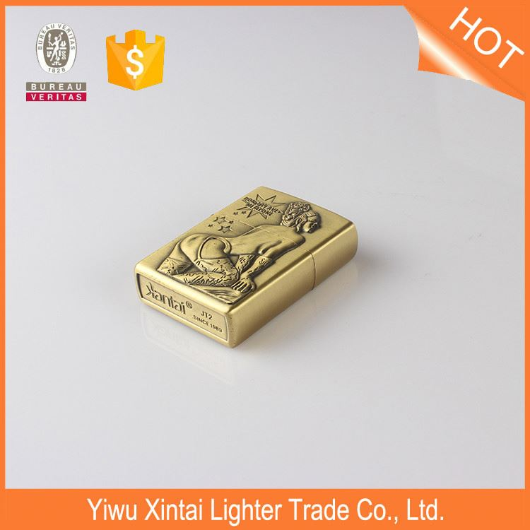 New product fashionable custom sublimation oil refill lighters with different size