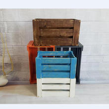Cheap Wooden Fruit Storage Crates For Sale